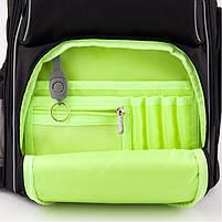 Рюкзак школьный ортопедический Kite Education K19-702M-4 Smart черный, фото 9