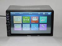 "2DIN Магнитола Pioneer 7018 7""+USB+SD+Bluetoth+Видео вход"