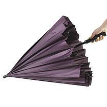 Женский зонт Lesko T-1001 Purple (4472-13235a), фото 2