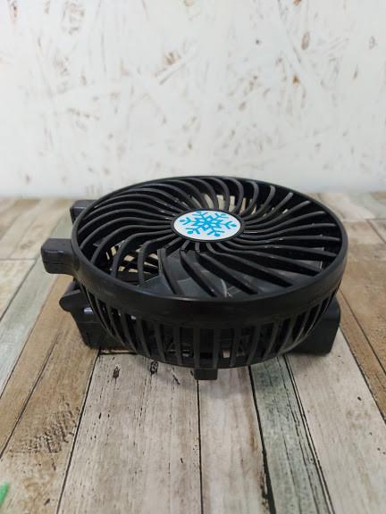 Ручний портативний вентилятор складаний Mini Fan Handy SS-2 Чорний