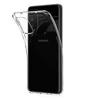 Чехол силиконовый для Samsung Galaxy S20 ультратонкий прозрачный (самсунг галакси с20)