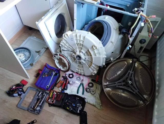 Как заменить амортизаторы в стиральной машинке