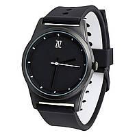 Годинник ZIZ Black на силіконовому ремінці + дод. ремінець + подарункова коробка (4100144)
