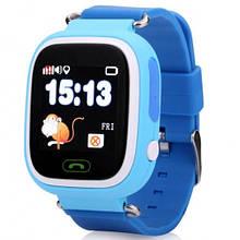 Смарт часы Smart Baby Watch Q90 с GPS Синий
