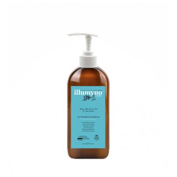 Кондиціонер для сухого і кучерявого волосся з маслом аргана і марули Design Look Illumyno 250 мл