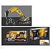 Будтехніка 1560 мет., радіокер. 2,4 G, 1:14, USB, рухомий ківш, світло, муз., кор., 53-28-19 див.
