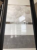 Колекція Пальміра світло-сіра (Palmira) 23*60, фото 1