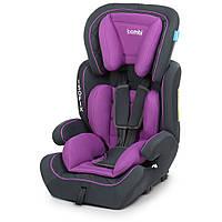 Автокрісло дитяче M 4250 Purple групи 1,2,3 з ізофікс, сіро-фіолетовий.