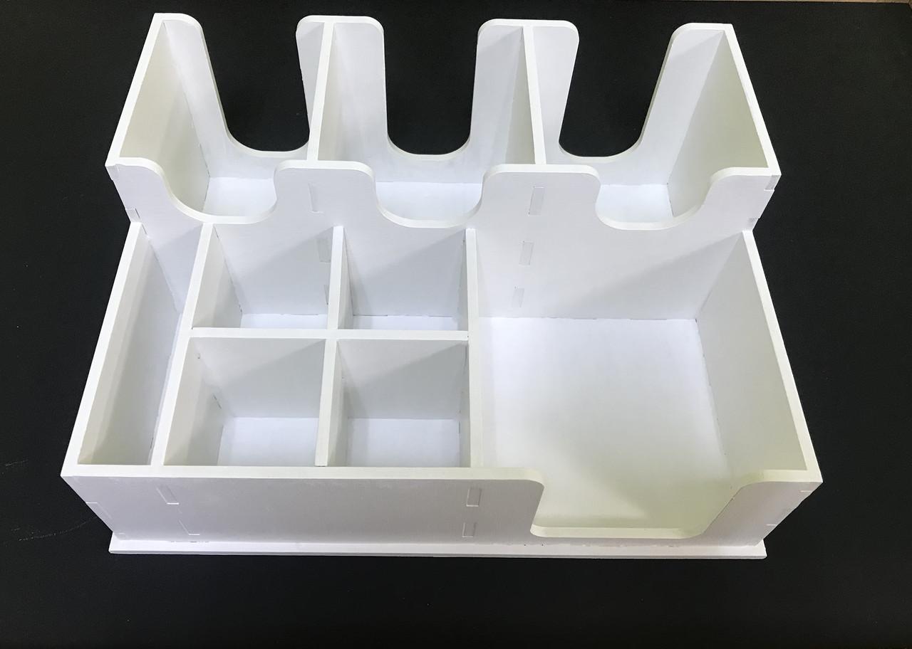 Органайзер барный Premium (Белый) EcoWood