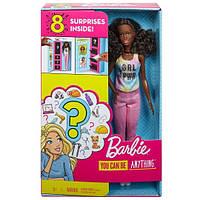 Кукла Барби Я могу быть Сюрприз (Barbie Surprise Careers with Doll and Accessories, Brown Hair), фото 1