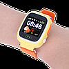 Детские Умные часы с GPS Smart baby watch Q90 желтые - Детские смарт часы-телефон с трекером и кнопкой SOS, фото 5