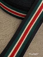 Тесьма окантовочная (лямовка) тип-7, 40мм/100метров Gucci