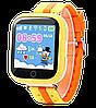 Детские Умные часы с GPS Smart baby watch Q90 желтые - Детские смарт часы-телефон с трекером и кнопкой SOS, фото 3