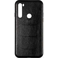 Чехол кожаный Leather Prime для Xiaomi Redmi Note 8t Black