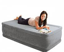 Надувная кровать Intex 64412 (99-191-46 СМ.) + ВСТРОЕННЫЙ ЭЛЕКТРОНАСОС 220W