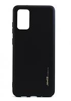 Чехол силиконовый Smtt для Samsung Galaxy S20 черный (самсунг галакси с20)