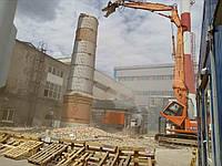 Демонтаж димових труб, металоконструкцій, будівель