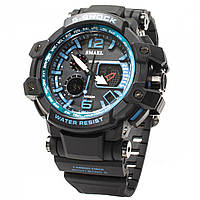 Мужские часы Smael 1509 Black-Blue 3096-8697, КОД: 975702