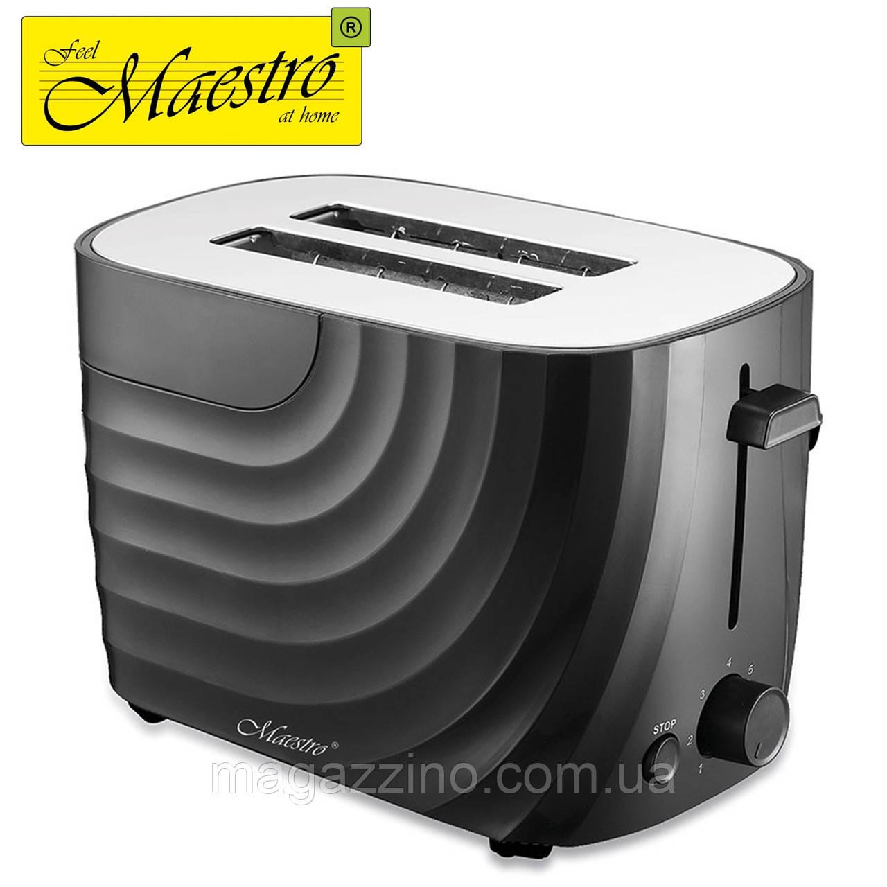 Тостер Maestro MR-706, 700 Вт., Черный