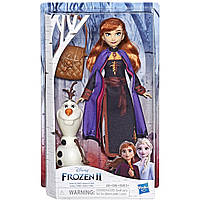 Принцесса Анна и Олаф, Холодное сердце 2, Anna with Olaf, Frozen 2, Hasbro E6661