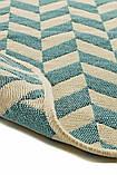 Набор ковриков в ванную комнату Solo 40x60, 60x90 см Mavi Zigzag (501OSKMZG3159), фото 2