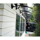 Навіс дашок для вхідних дверей Siker 800-N 800х1200 мм, фото 4