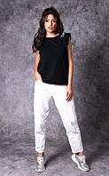 Женская хлопковая футболка Poliit 3021