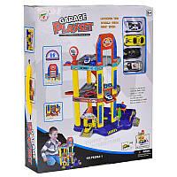 Гараж игрушечный Р 8288 А-1, с лифтом