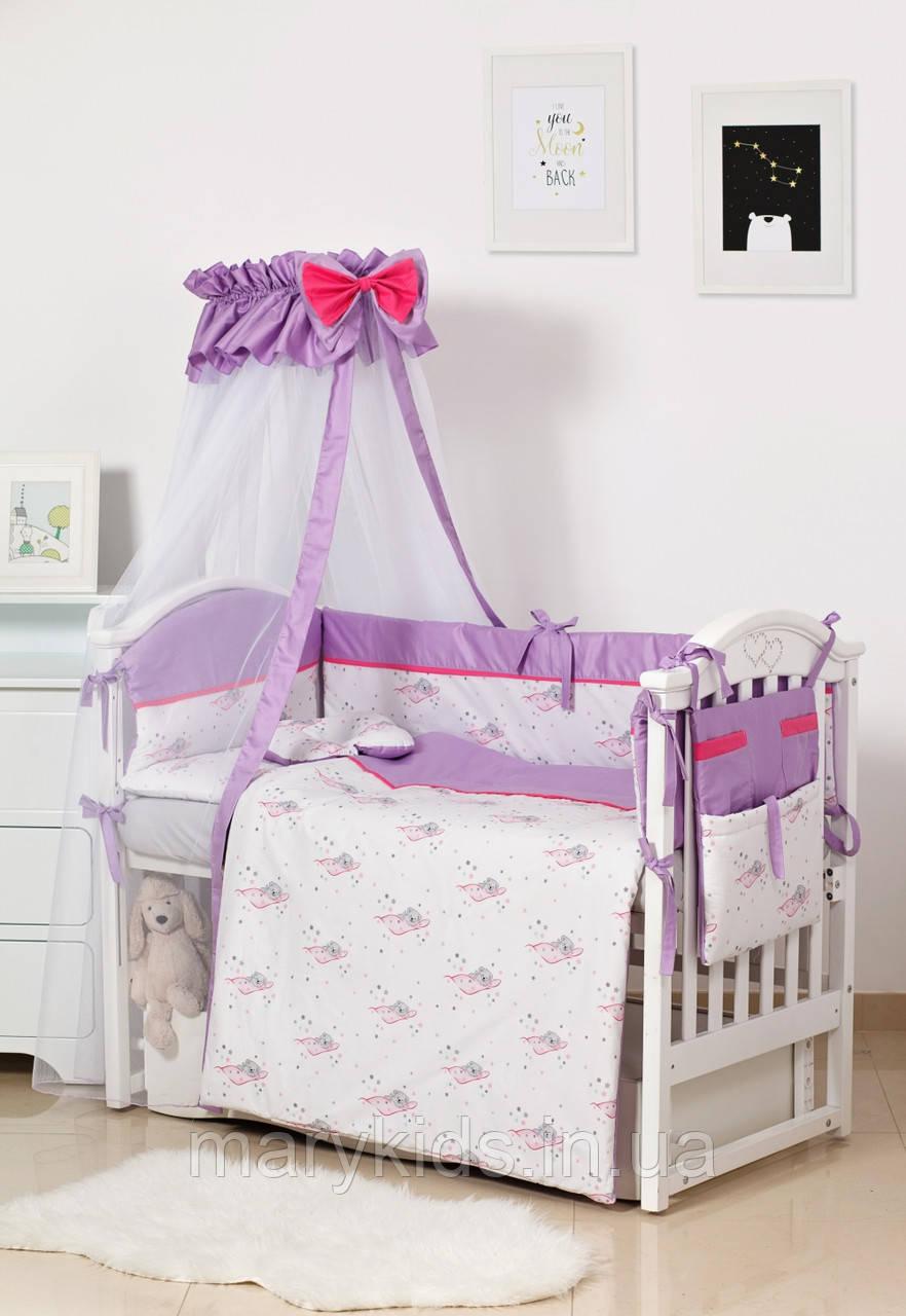 Детская постель Twins Modern ll 4028-P-117 Мишки розовый 8 элементов