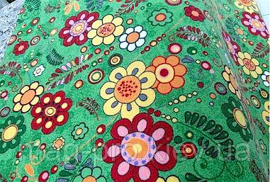 Детский ковролин цветочки p1177/51