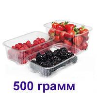 Пінетки для ягід з кришкою 500 грам 600 шт.