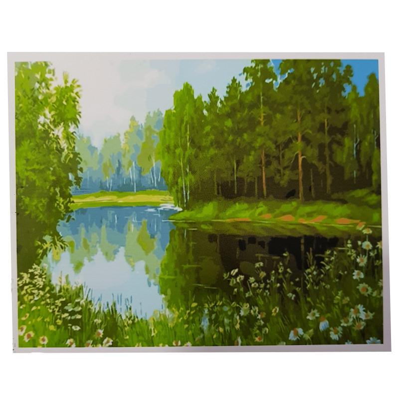 """Картина по номерам """"Лесная свежесть"""" PH 9313 40-50 см"""