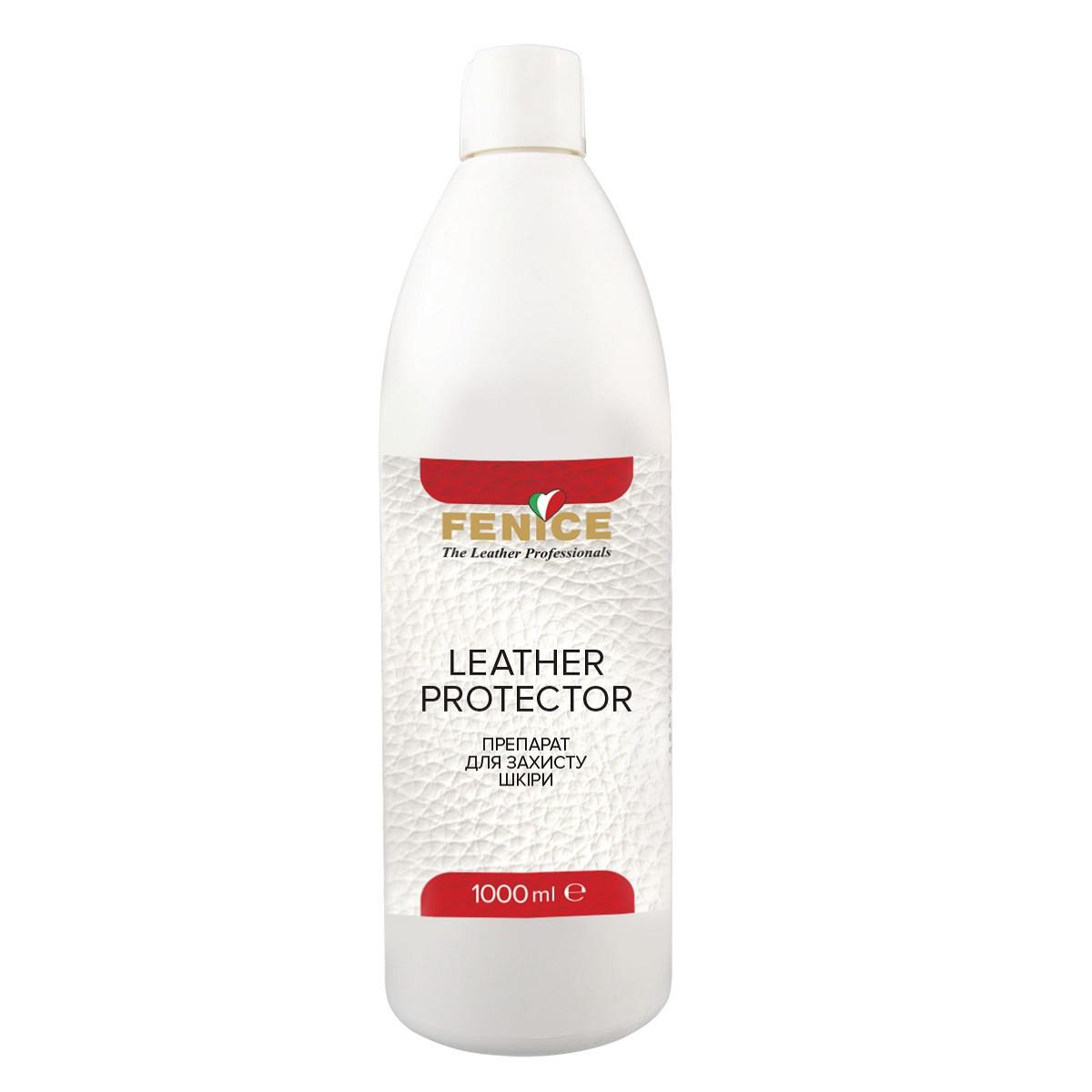 Fenice Leather Protector Засіб-протектор для захисту шкіряних виробів, 1 L