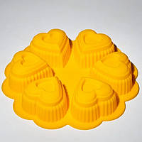 Форма силиконовая для выпечки кексов 245 мм Empire M-7107 + Бонус