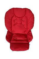 Чехол DavLu к стульчику для кормления Сhicco Polly 2 в 1 красный (Ch-051), фото 1