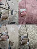 Покрывало - одеяло стеганое евро размер   + 2 наволочки 50*70 см, фото 8