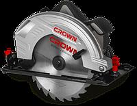 Циркулярная пила ручная Crown CT15210-235 2000 Вт (301623)
