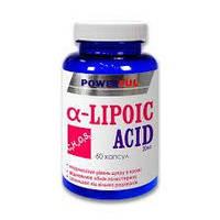 Альфа-липоевая кислота POWERFUL 60кап.по 20мг.Красота и Здоровье