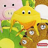 Дитяча рукавичка-мочалка порося TITANIA art.9202, фото 7