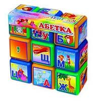 "Кубики ""Абетка"" (9 штук)  sco"