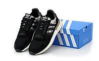 Мужские кроссовки Adidas ZX-500 Commonwealth OG Camo цвет хаки (Адидас Зед Икс демисезонные)