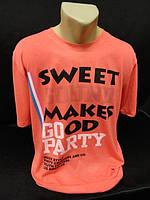 Молодежные мужские футболки с надписями., фото 1