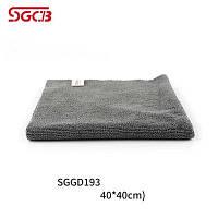 Микрофибра без оверлока серая 40 х 40 cm SGCB Microfiber Towel Grey 320г/м2.