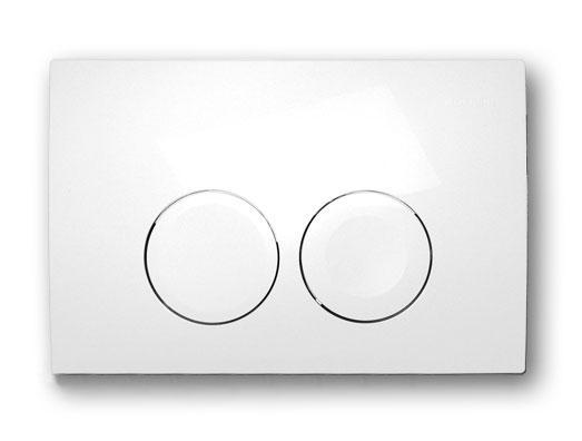 Панель смыва кнопка GEBERIT Delta белая 115.125.11.1