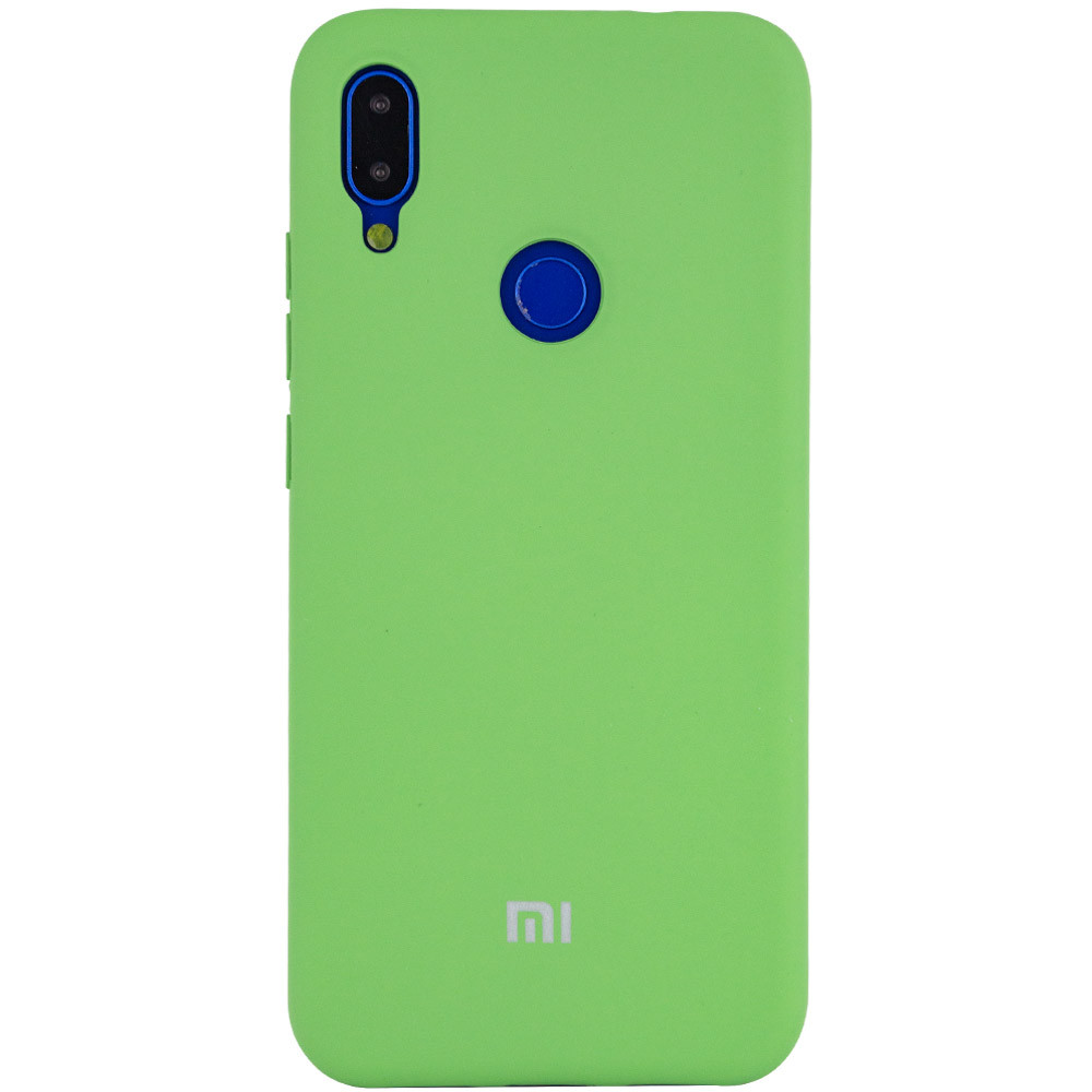 Silicone Cover Full Protective для Xiaomi Redmi Note 7 7s Зеленый Green Epik