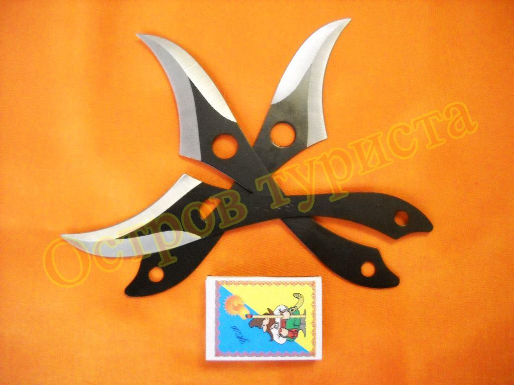 Ножи метательные набор 3 шт 159030 с чехлом