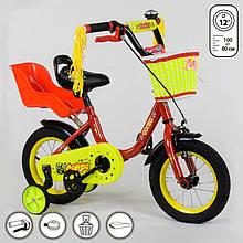 Велосипед CORSO 12 дюймов Бордо IG-78164, КОД: 1491119