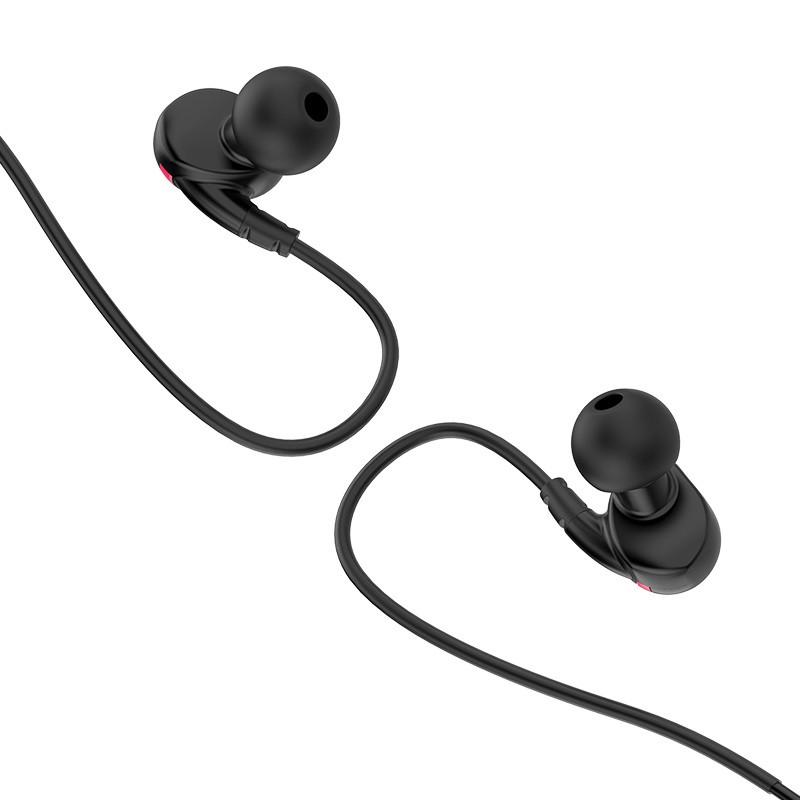 Беспроводные наушники и гарнитуры. Hoco ES19 Joy Sound Sports Черный Bluetooth