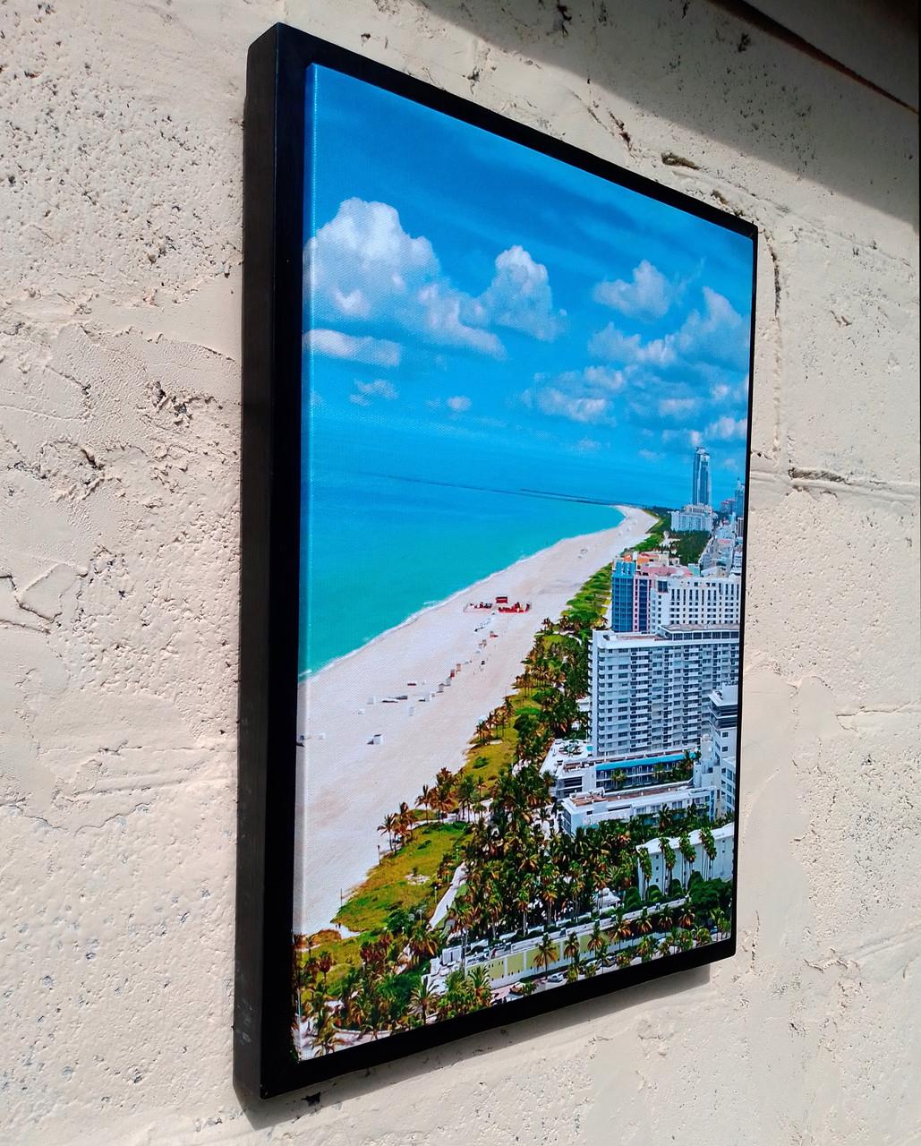 """Картина в рамке """"Побережье Майами"""""""