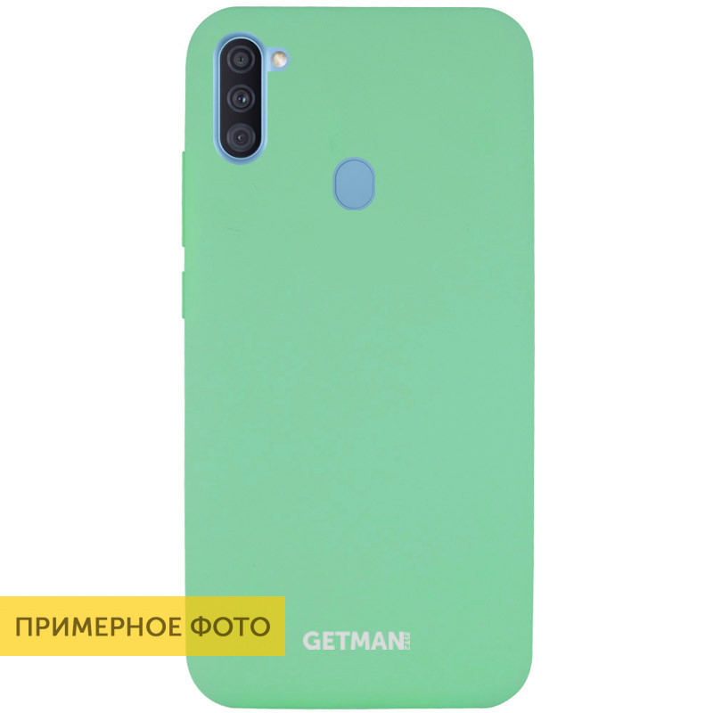Silicone Case GETMAN for Magnet для Apple iPhone 11 Pro Max Зеленый